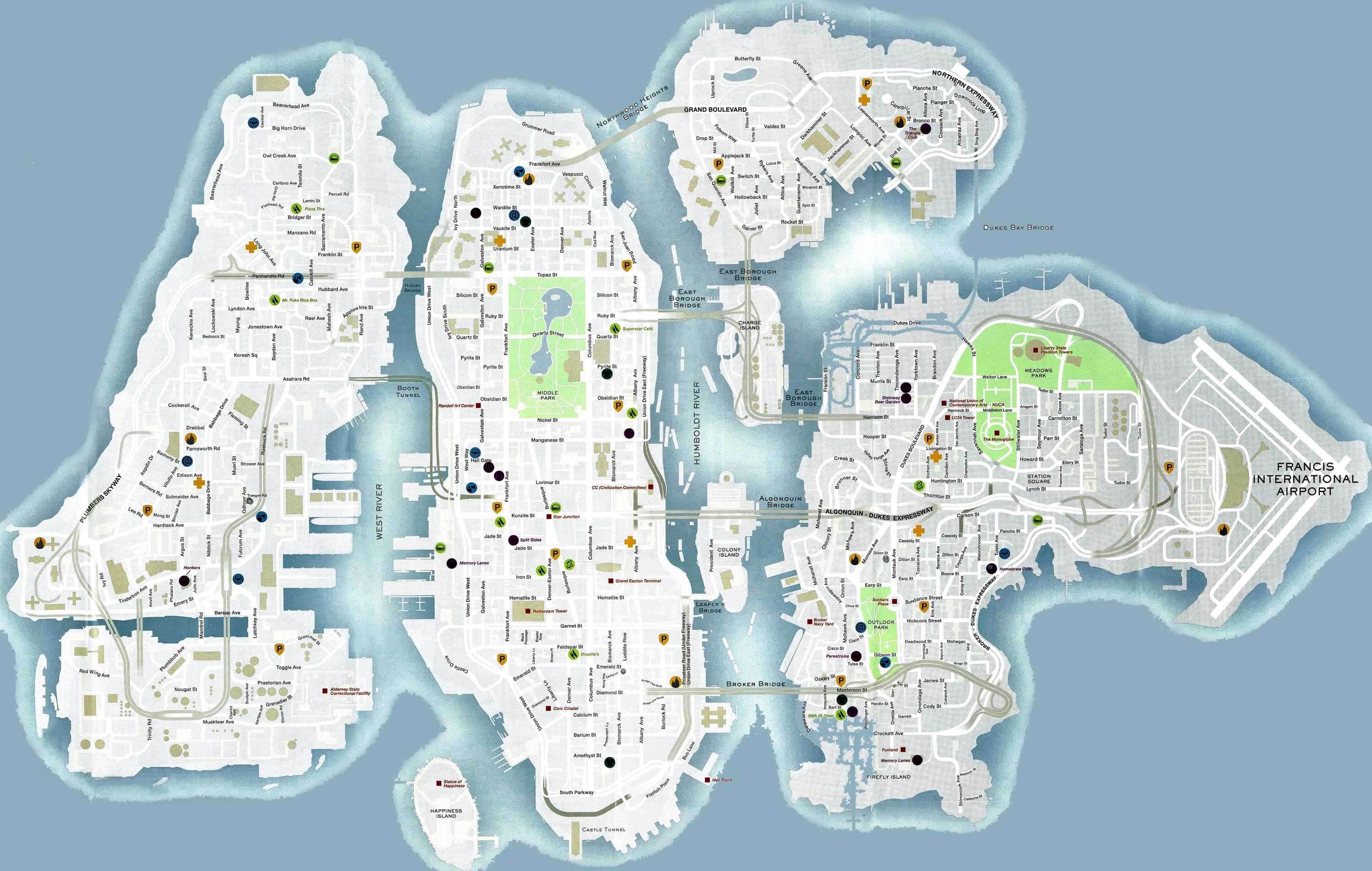 GTA 4 CARS LOCATION